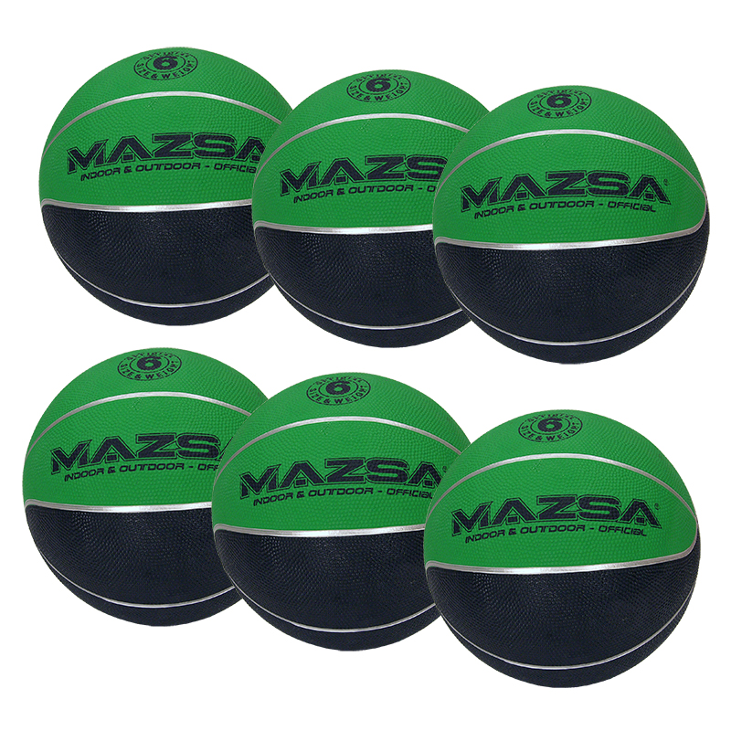 Basketboll Mazsa Plus 6, Storpack 6 st