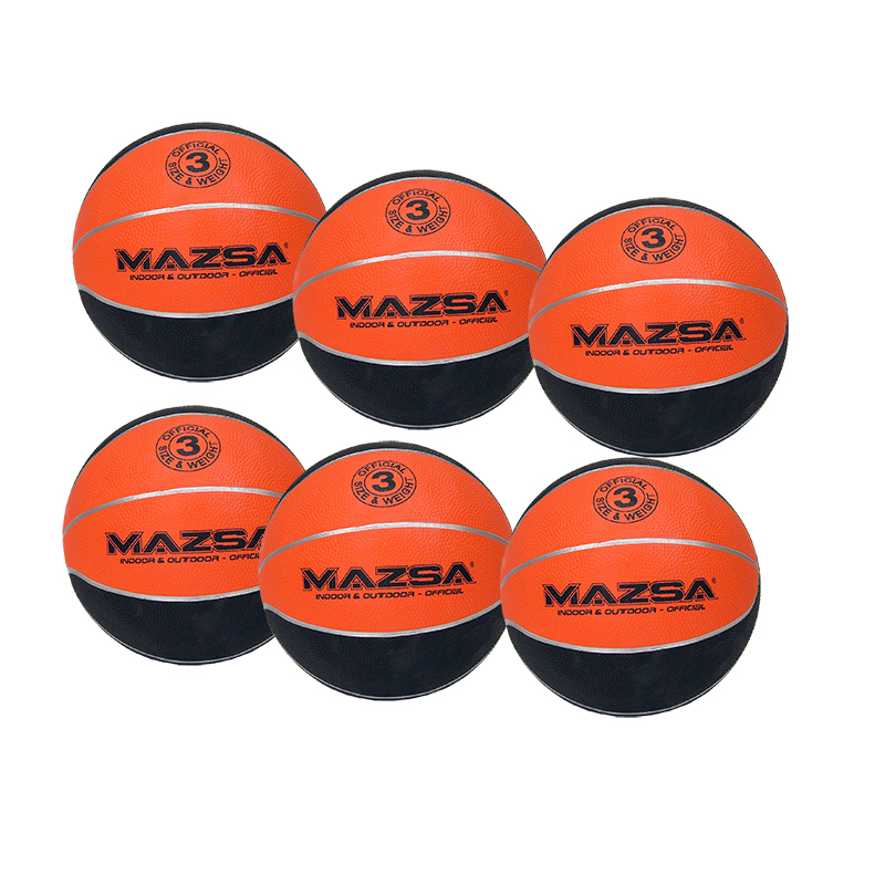 Basketboll Mazsa Plus 3, Storpack 6 st