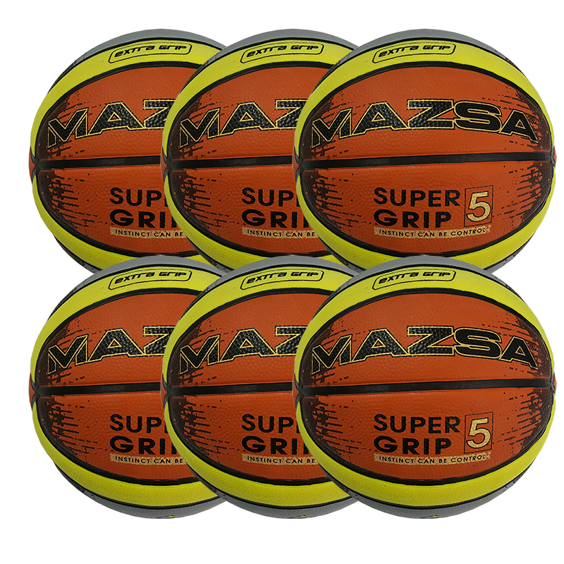 Basketboll Mazsa Cellular 6, Storpack 6 st