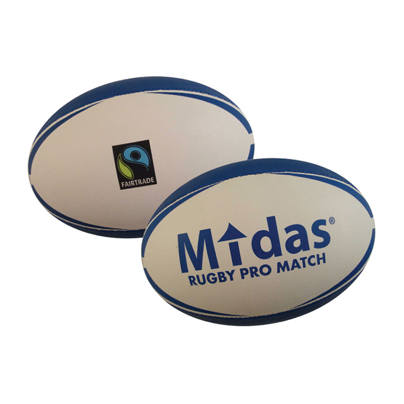 Rugbyboll Midas Pro Match Fairtrade