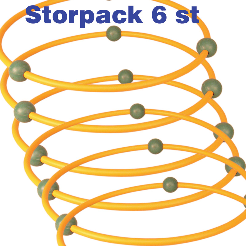 Step training ringar, Storpack 6 st