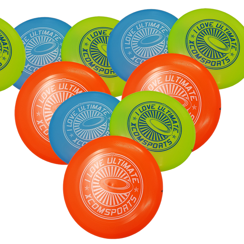 Frisbee Ultimate 175 g., storpack 10 st