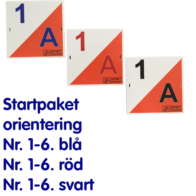 Sport Educations Startpaket Orientering