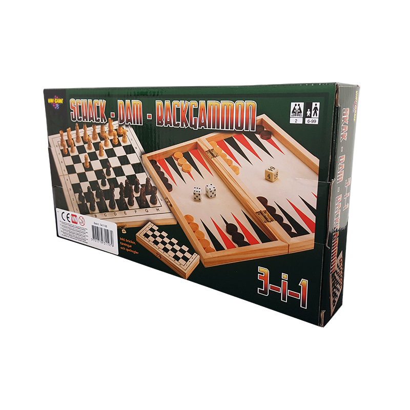 Schack-Dam-Backgammon