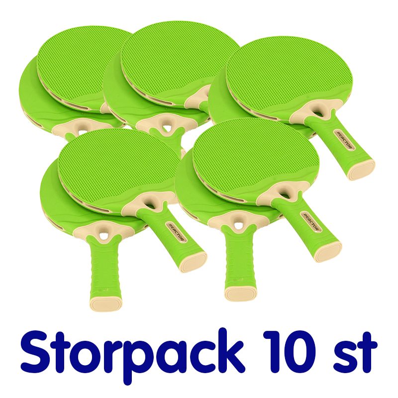 Bordtennisrack Ultimate, Green, Storpack 10 st