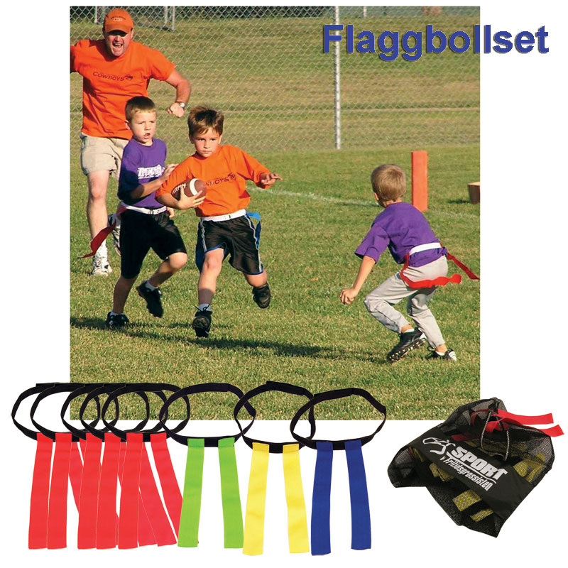 Flaggfotboll Set