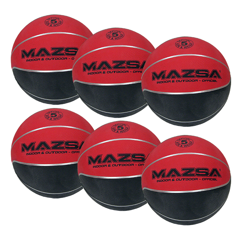 Basketboll Mazsa Plus 5, Storpack 6 st