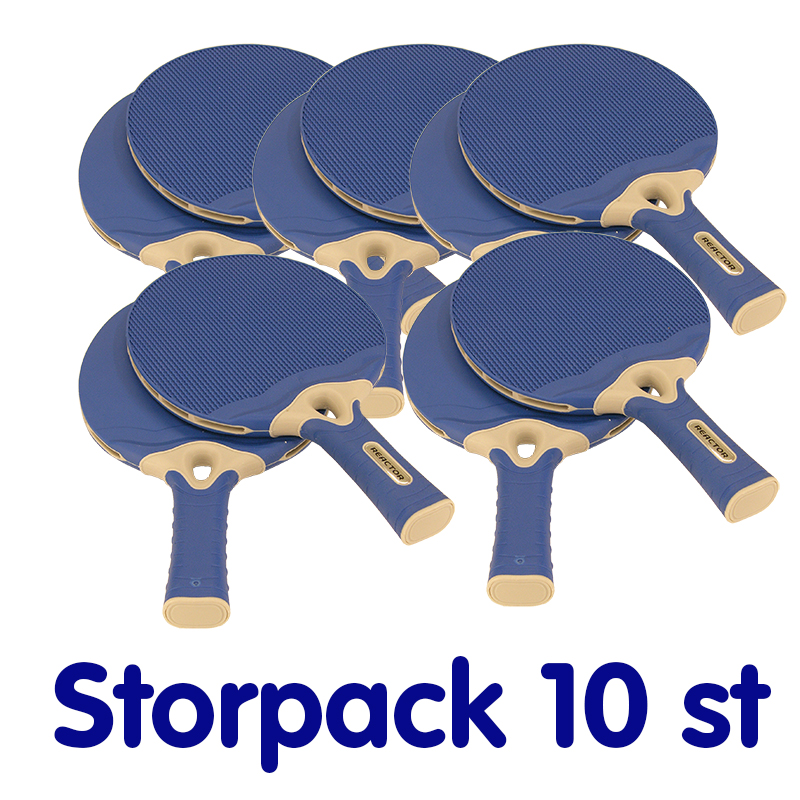 Bordtennisrack Ultimate, Blue, Storpack 10 st